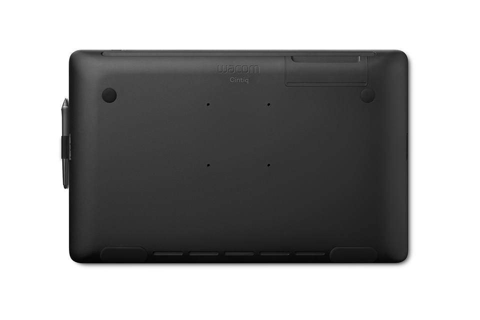Wacom Cintiq 22 view from the back