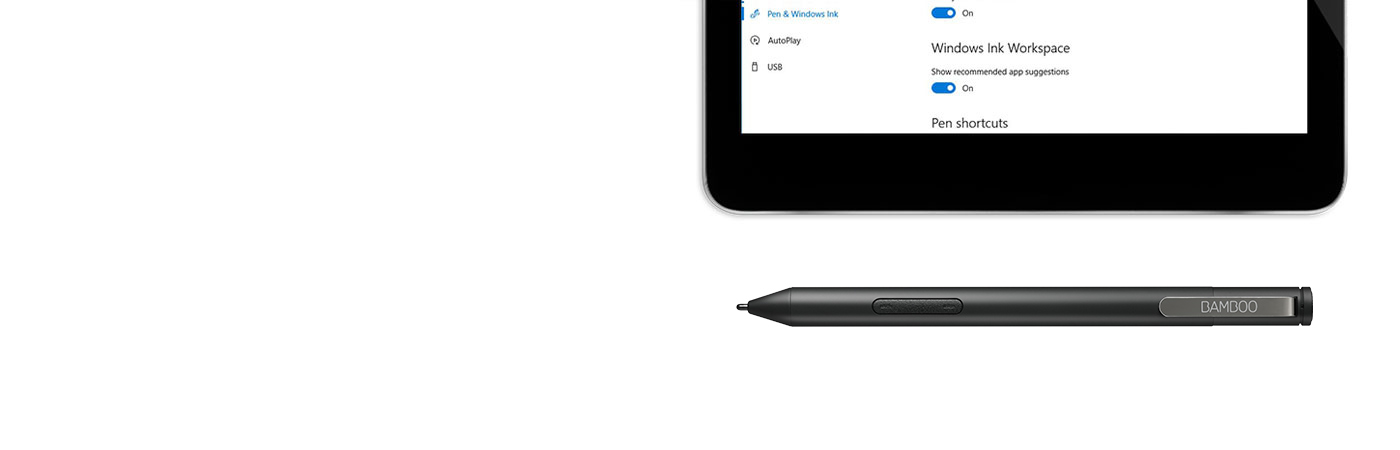 Getting Started With Bamboo Ink Smart Stylus Optimized For Windows