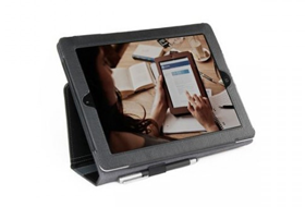 Smart Guy Stylus iPad Case - Black